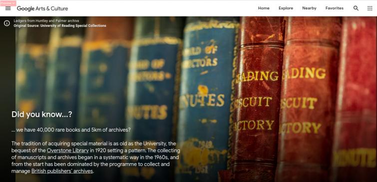 Screenshot from Google Arts & Culture