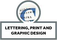 Lettering Printing and Graphic Design